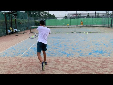 5/27] テニス練習|Tennis Practice - YouTube