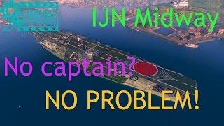 WoWs: Kaga [WIP] - No captain? No problem!