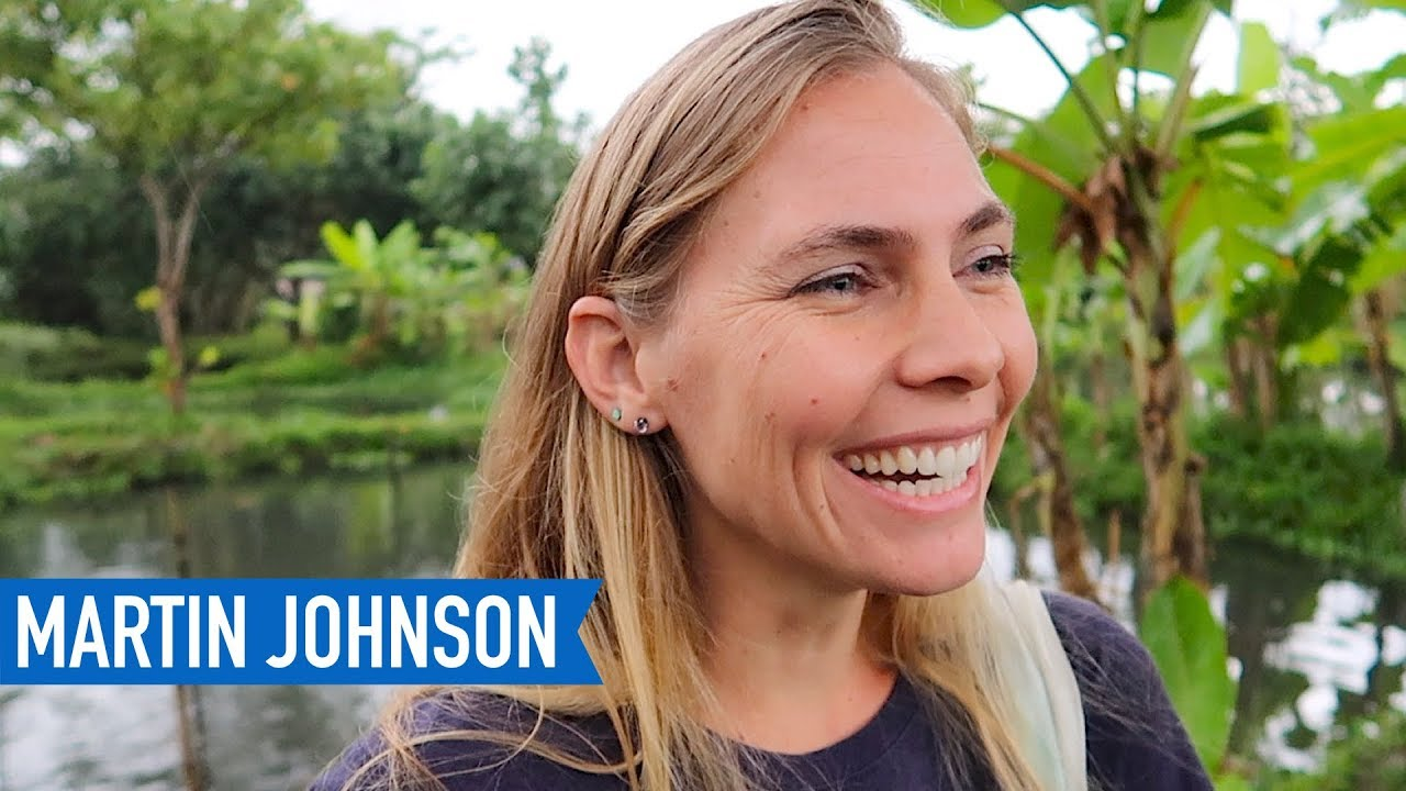exploring indonesian gardens and fish ponds + indonesian turkeys