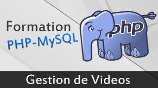 Gérer des vidéos en PHP - Tutoriel