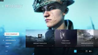Battlefield V how to customize your soldier