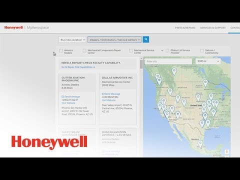 Aerospace Directory Demonstration | Aero Training TV | Honeywell Aviation