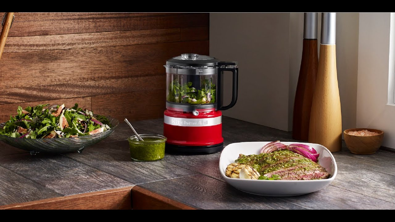 Presenting the KitchenAid® 3.5 Cup Mini Food Chopper