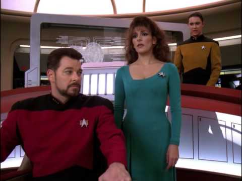 Riker is receiving 285,000 Hails Star Trek TNG (HD)