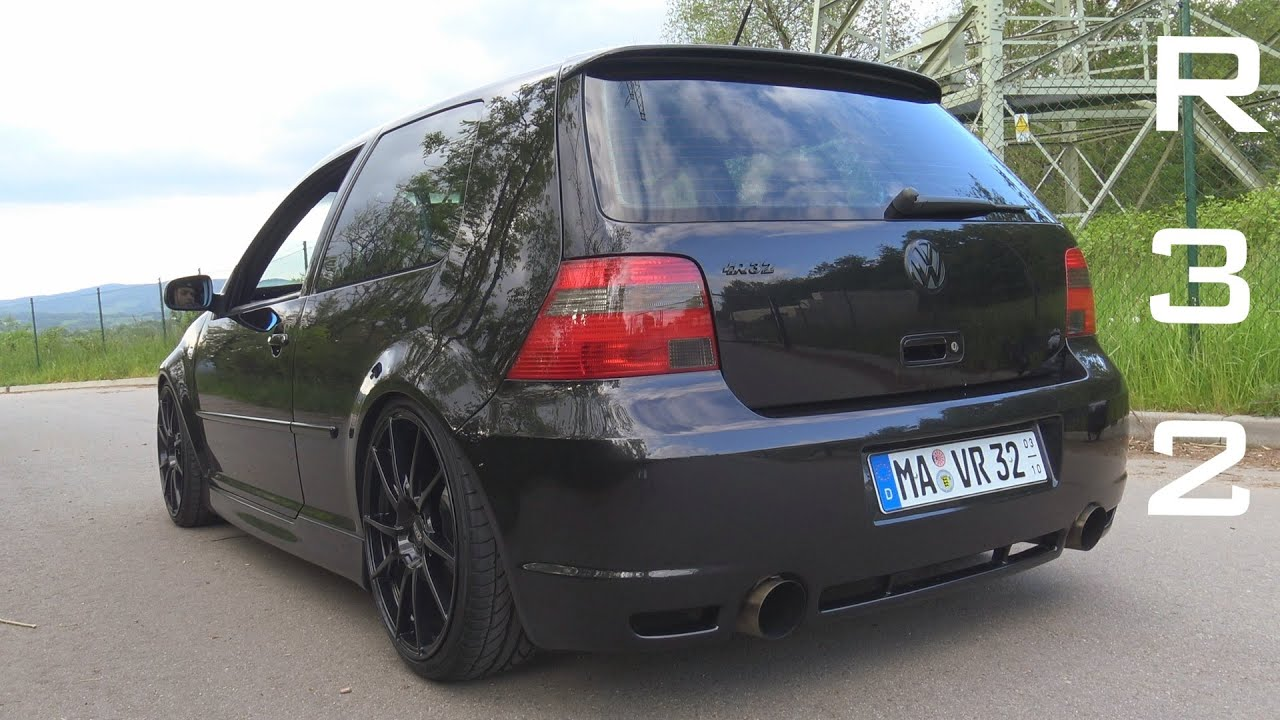 vw golf 4 r32 straight pipe acceleration sound onboard autobahn 0 200 km h youtube. Black Bedroom Furniture Sets. Home Design Ideas