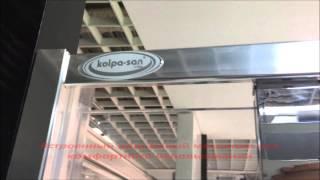 Душевая дверь в нишу Q-LINE TVO от KOLPA-SAN(Распашная дверь в нишу. За очень доступные деньги., 2015-09-11T09:44:39.000Z)