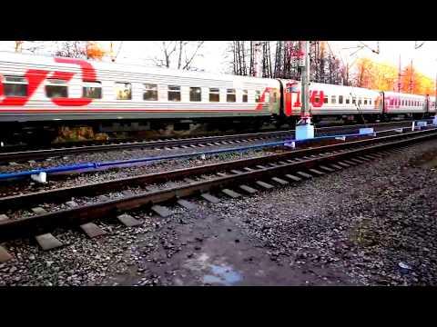 Станция Клин и поезда 25