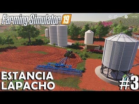 Estancia Lapacho | Timelapse #3 | Farming Simulator 19 - Mega Equipment