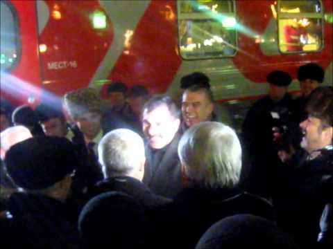 Фирменный поезд «Ингушетия» 145С, Назрань — Москва