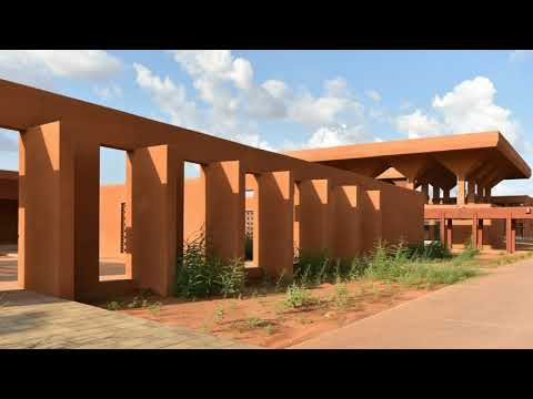 The Stunning General Hospital in Niamey, Niger