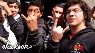 mexico city fans wait to meet megadeth s chris broderick and david ellefson