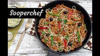 Chicken Tomato and Spaghetti Pasta Recipe