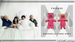 I Can't Get Enough FRIENDS - Marshmello, AnneMarie, BennyBlanco, Selena Gomez & MORE (MASHUP)