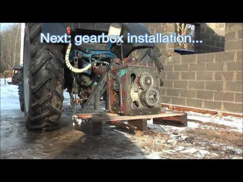 Belarus MTZ-82 restoration project. Part 3 | Gearbox Repair