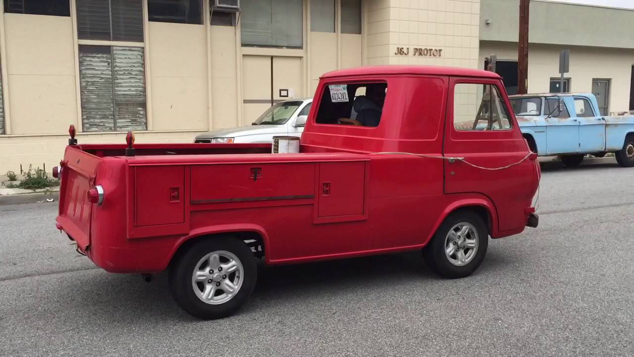 61 ford econoline pickup runs and drives youtube. Black Bedroom Furniture Sets. Home Design Ideas