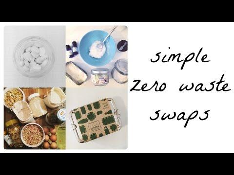 Simple zero waste swaps