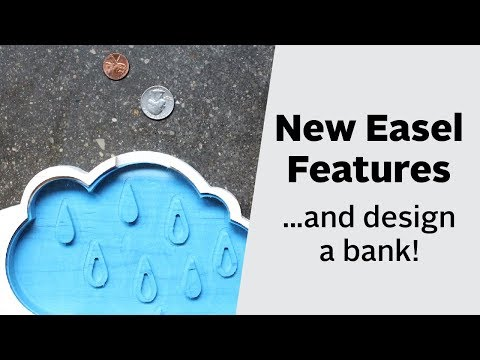 Easel Live: New Easel Features! (Plus, Design a Piggy Bank)
