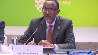 President Kagame speaks at Smart Africa Board Meeting Working Lunch | Kigali, 8 May 2018