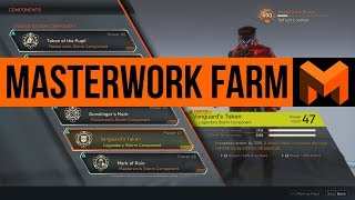 Masterwork Component Farming: How to Get Unlimited Legendary Contracts in Anthem