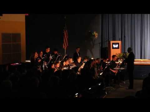 Wren High School Jazz Band playing Killer Joe