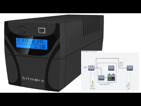 Bitmore U850LCD UPS Line Interactive TESTING
