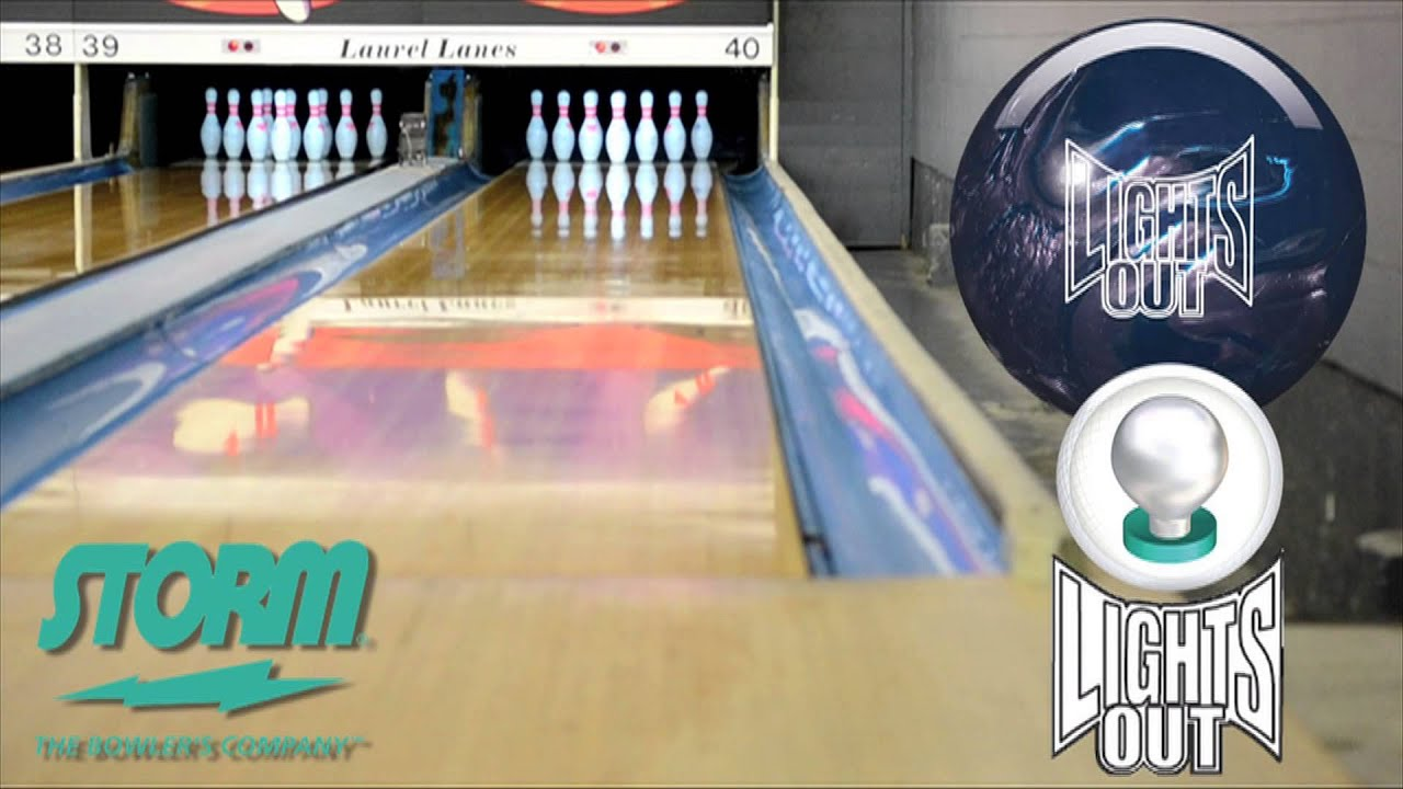 Storm Lights Out By Competitive Edge Bowling
