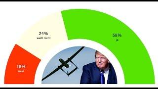 Hälfte der Deutschen lehnen Deutschlands Beteiligung am US-Drohnenkrieg ab - J&N fragt die Deutschen