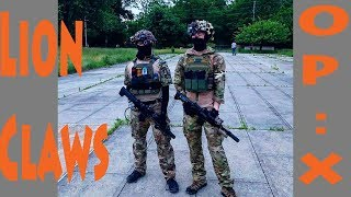 Lion Claws Op:X Fort Monmouth Airsoft