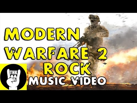 MODERN WARFARE 2 ROCK RAP  TEAMHEADKICK Head Huntin