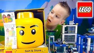 Конструктор Lego CitY. Lego сортеры, коробки. Новый набор Lego Classic. Канал Nick Turbo(Я хочу показать что есть интересного из LEGO у меня: коробки для хранения конструктора, сортеры, Lego City (полицей..., 2016-03-17T06:00:00.000Z)