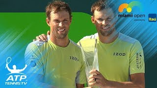 Bryan Brothers win fifth Miami Open title | Miami Open 2018 Doubles Final Highlights