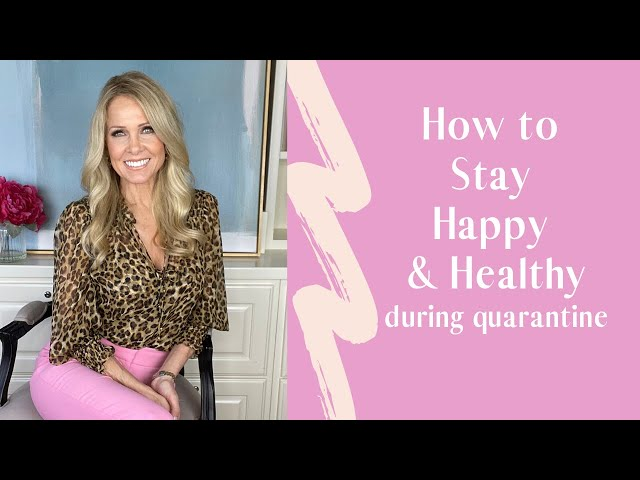 Tips to stay positive during quarantine