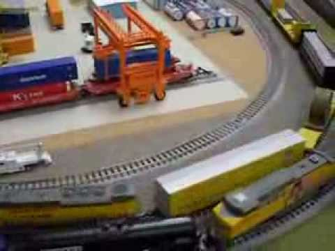 Modelling Railway Train Track Plans -Superb N Scale Model Train Layout