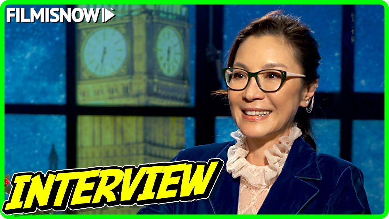 LAST CHRISTMAS | Michelle Yeoh talks about the movie - Official Interview