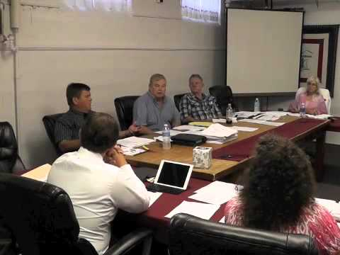 Ticonderoga Town Board Meeting  8-14-14