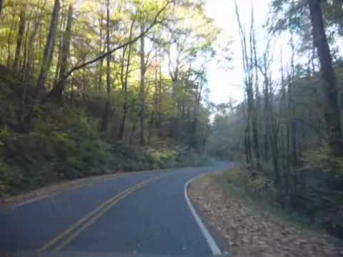 Driving Near Saluda, NC