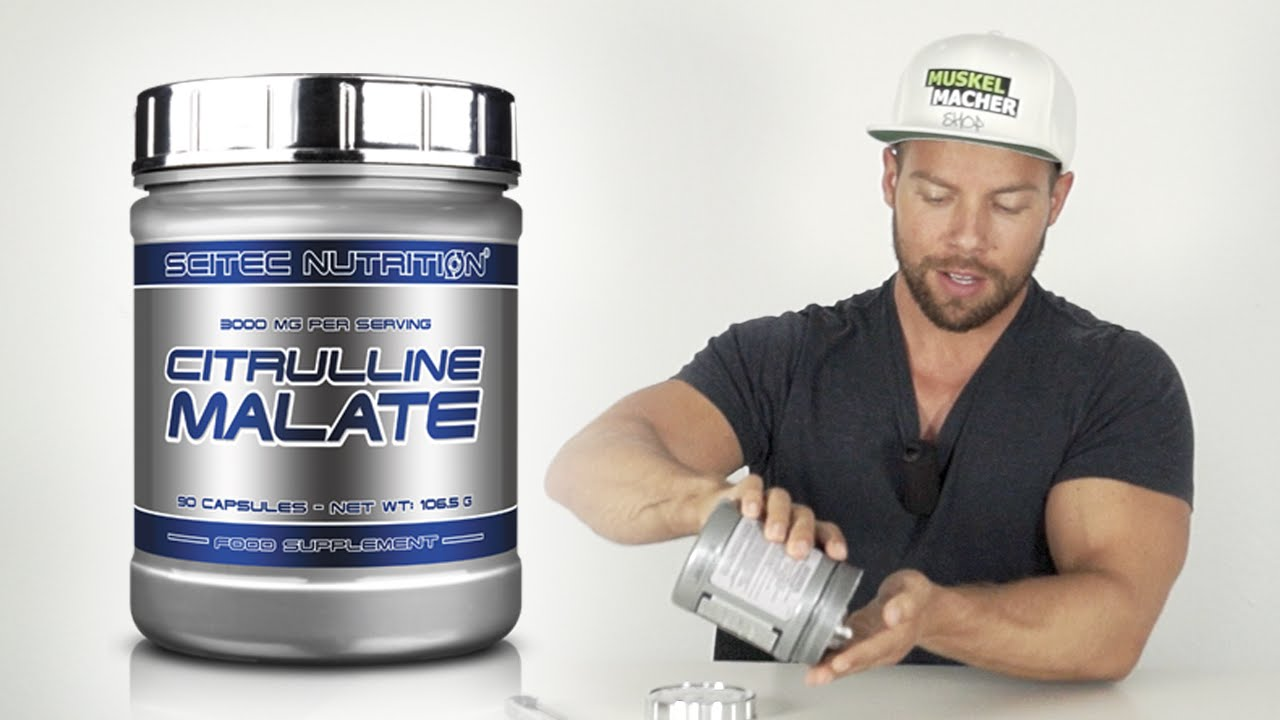 Scitec Nutrition Citrullin Malat im Review - YouTube