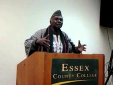 Dr. Leonard Jeffries addresses ASCAC
