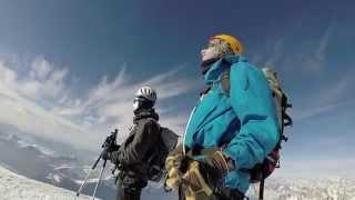 Ascension du Mont Blanc à Ski via les 3 monts