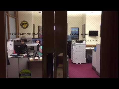 B-roll: Oregon Secretary of State's Office