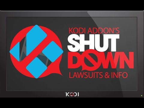 Kodi addons Not Working - Massive Shutdown!