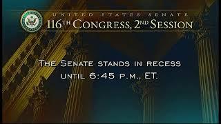 Comienza la segunda semana del juicio político al presidente Trump en el Senado.