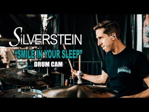 Silverstein | Smile In Your Sleep | Drum Cam (LIVE)