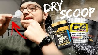 "How to ""Dry Scoop"" Your Pre-Workout"