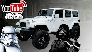 Lifted Jeep Wrangler Sahara Unlimited Edition FOR SALE