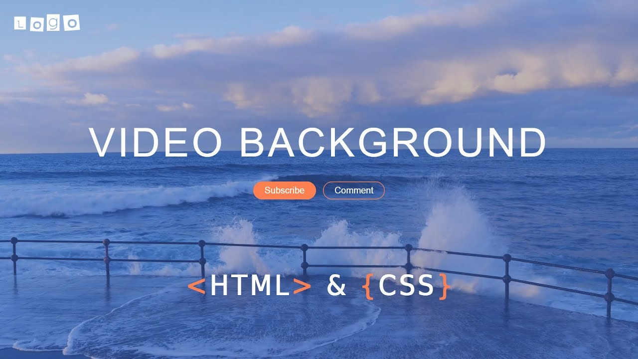 How To Make A Website With Full Screen Background Video Using HTML And CSS