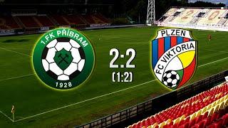 SYNOT LIGA | 1. FK Příbram - FC Viktoria Plzeň | 2:2 | 26.7.2014
