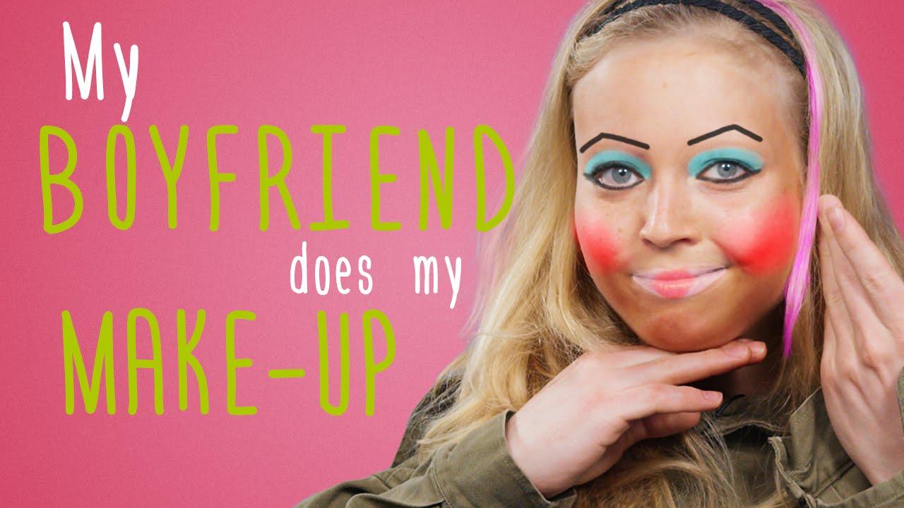 NOT MY ARMS   Mein Freund schminkt mich - YouTube