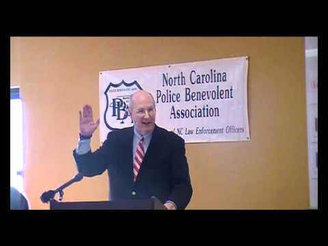 Police Benevolent Association News Conference Fayetteville Consent Search Moratorium Part1