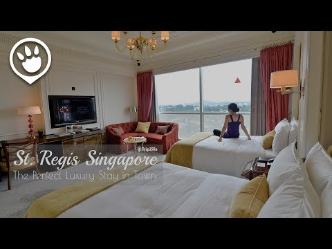 Staycation at The St. Regis Singapore